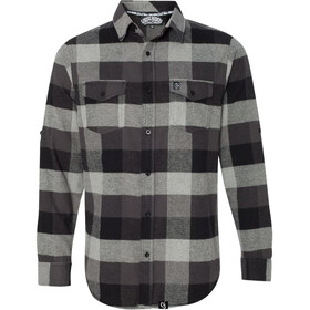 Loose Riders Flannel LS Shirt Men grey